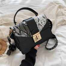 Small Hand Bags for Women 2020 New Serpentine Fashion Shoulder Bag