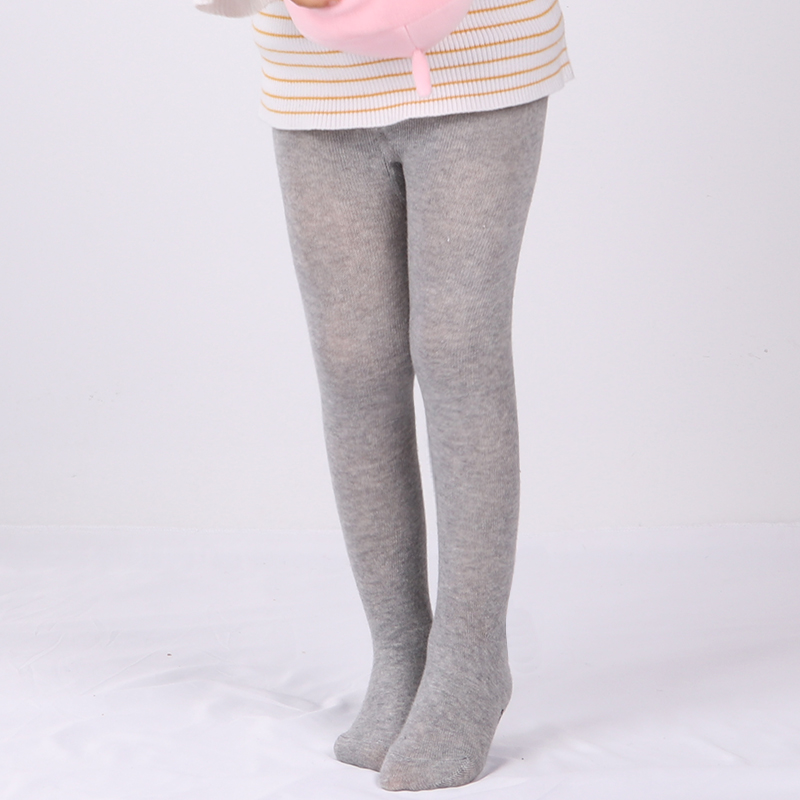 0-6Yrs Children Spring/Autumn Tights Cotton Baby Girl Pantyhose Kid Infant Knitted Tights Soft Infant Clothing 2
