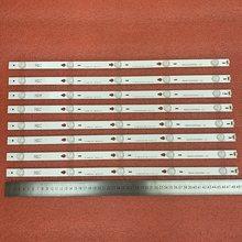 8pcs tira Retroiluminação LED Para THOMSON 48FA3203 48FS3003 48FA5413 48FA5403 48FS3750 48HR330M05A1 V2 B48A858U LE48M4S10 48FS3750