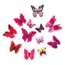 Искусственные пластиковые бабочки украшения для дома аксессуары