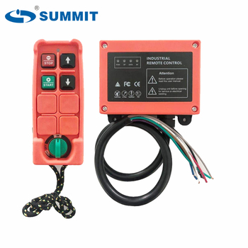 SUMMIT F21-2S-WD 2 single speed up and down for mini micro 1 axis electric hoist industrial radio remote control controller