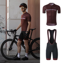 Men Cycling Jersey-Set Santic Short-Bike Sport Breathable Summer WM0CT081 Asian-Size