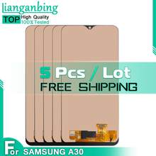 Wholesale 5 Pcs/Lot TFT INCELL For Samsung Galaxy A30 A305/DS A305F A305FD LCD Panel Touch Screen Display Digitizer Assembly