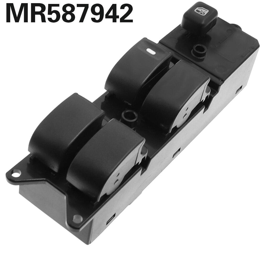 MR587942 interruptor de ventana de potencia LHD lado izquierdo del conductor para Mitsubishi Pajero Montero III 3 Lancer Triton L200 Sport Grandis Coche