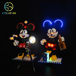 Kyglaring LED Lighting Kit for LEGO 43179 Mouse set (only light included)