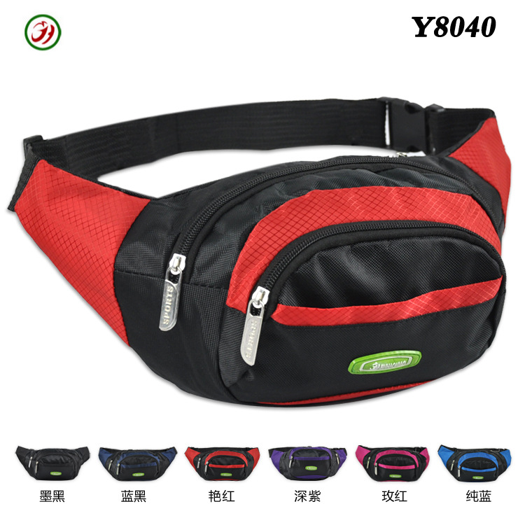 [Factory Price] Outdoor Fitness For Both Men And Women Breathable Multi-functional Running Sports Waist Pack Chest Pack Y8040