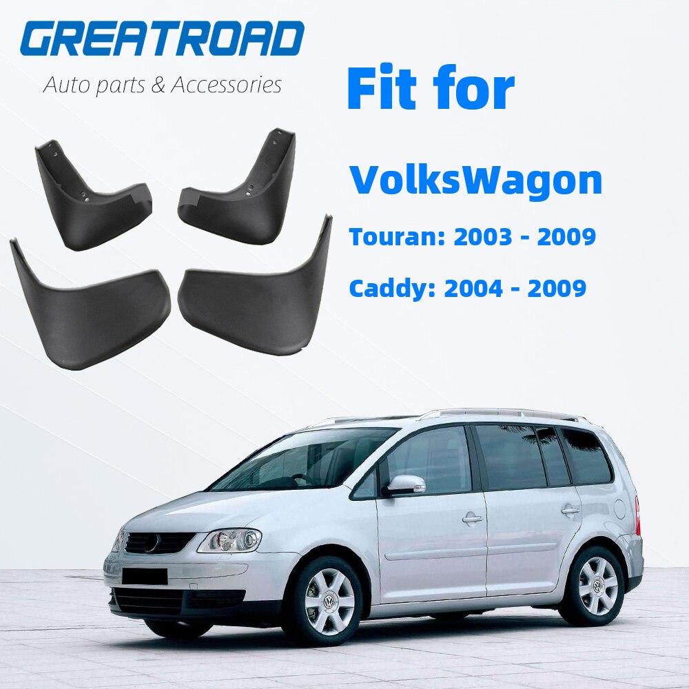 Set Mudguards For VW Touran 2005~2010 Mud Flaps Splash Guard 2009 2008 2007 2006