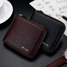 Bag Small Wallet Luxury Brand Organizer Money Large-Capacity Vintage Fashion Simple Short