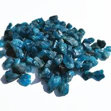 Crystal-Chips Gravel-Stone Garden-Decoration Rock Blue Apatite Natural for High-Quality