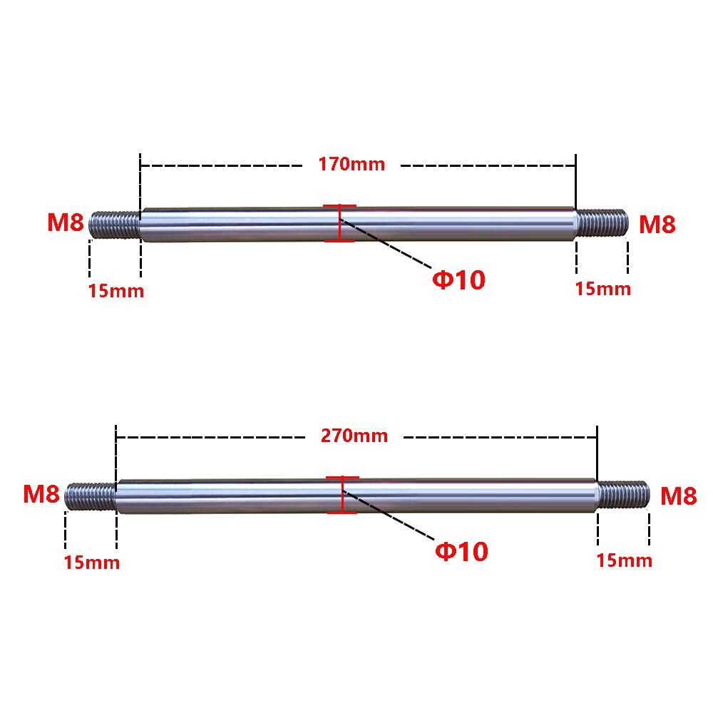 M8 Ф10 200 мм/300 мм, телескопический механизм возвратно-поступательного движения, линейный подшипник, оптическая ось, рычаг качания, прямой вал