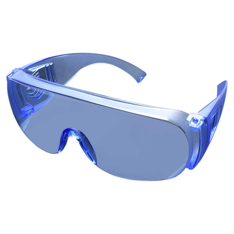 New 2020 Safety Glasses Protective Goggles Prevent Spray Wind And Dust Clear Lens Black Temple