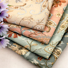 Embossed jacquard coat fabric excellent quality fabric sewing material for DIY dress women exquisite pattern design fabrics