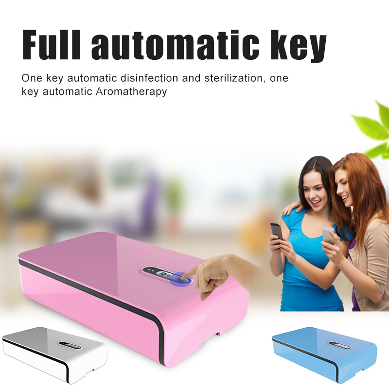High Quality Multifunctional UV Light Phone Cleaner with USB Charging for Phones Jewelry Watch Cleaning