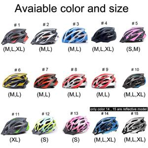 Image 5 - MOON велосипедный шлем Сверхлегкий велосипедный шлем в форме MTB дорожный горный велосипед шлем Casco Ciclismo S/M/L/XL