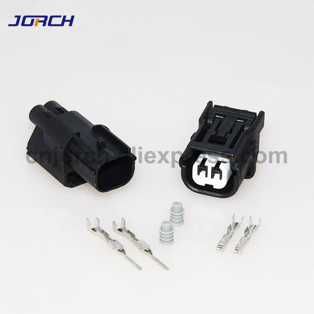 5sets 2 Pin Male And Female Automotive Waterproof Electric Wire Harness Connector 6189-6905 6189-7036