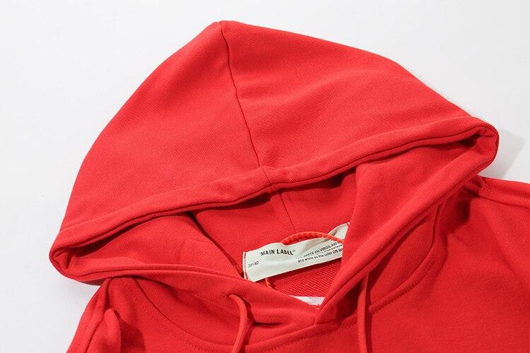 Модная брендовая Длинная черная ветровка с капюшоном плюс бархатная толстовка куртка с принтом аниме флисовые толстовки для мужчин и женщи... - 4