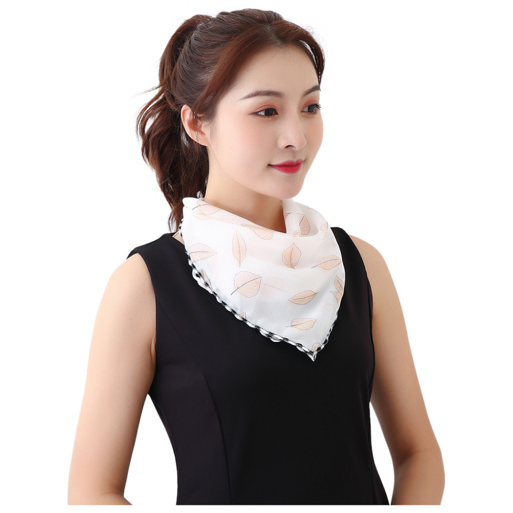Women's Protective Washable Cotton Scarf Mask 19