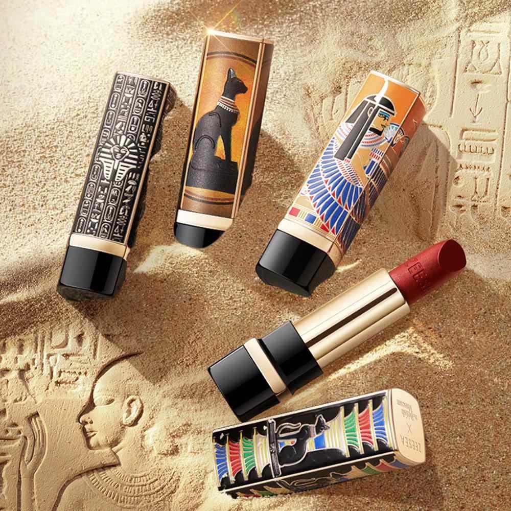 Zeesea Nieuwe Egypte Collecties 10 Kleuren Langdurige Waterdichte Voedzaam Lipstick Vocht Fluwelen Mat Naakt Mode Lipgloss