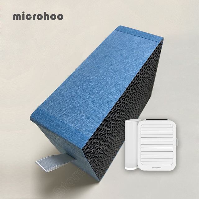 Original Microhoo Capacity Mini USB Portable Air Conditioner Filter Cool and Humidify Touch Screen Air Conditioner Filter 2