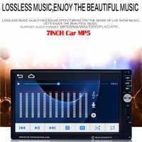 Reproductor Multimedia MP5 para coche 2Din, Audio estéreo, Radio para coche, pantalla táctil HD de 7