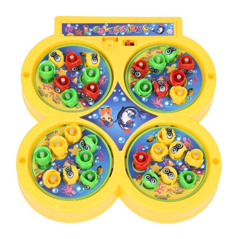 Plateau Fishing Game Fish On Line Magnetic Educational Toy For Kids Baby