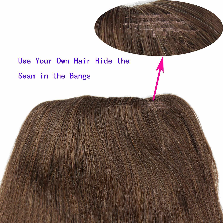 Eseewigs 4B 4C Afro Kinky krullend Human Hair paardenstaart Voor Black Women Natural Color Remy Hair 1 Stuk Clip In Drawstring Paardenstaarten