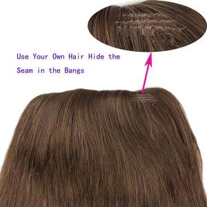 Image 3 - Eseewigs 4B 4C Afro Kinky завитые человеческих волос хвостик для чернокожих женщин естественный цвет волос Remy 1 шт клип в Drawstring Ponytails