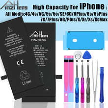 Mobile Phone Battery For iPhone 6S 6 7 8 Plus X High Capacity Replacement Bateria For iPhone 5 5S 5C SE 4 4S XR XS Max Batterie сайкс дж не хочу спать 2 4 года