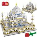4146 шт. игрушки для детей Creator мини-конструкторов в всемирно известный Архитектура Тадж-3D модель здания развивающие Алмазные Кирпичи подарки