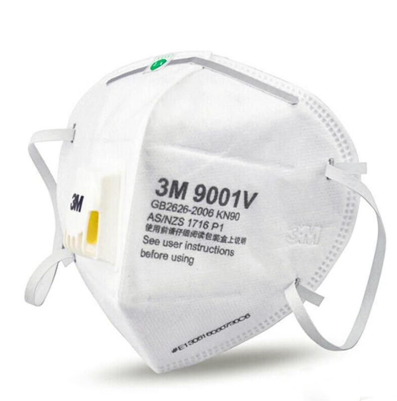 In Stock!3M N95 Mask VS FFP2 With Respirator Anti Dust 9001/9002 Dustproof PM2.5 Protective Mask Reusable Mask