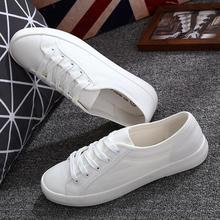 Breathable Shoes White Sneakers Canvas Women Black Casual Woman Spring Shallow Autumn