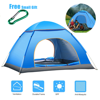 MYJ Ultralight Family Dome Tent One Touch Camping Sun Shelters Automatic quick open tent Outdoor sun-shelter camping tents