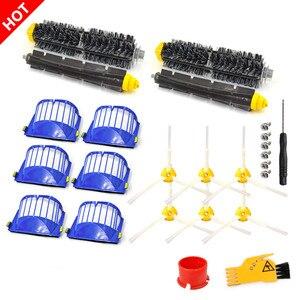Image 1 - Filter Brush Kit for IRobot Roomba 600 Series 615 616 620 621 631 651 650 690 680 605 Cleaning Tools Beater Brush Filters Kit