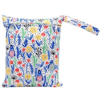 20*25cm Mini Diaper Wet Bag Single Pocket Zipper Baby Bags For Mom Maternity Travel Stroller Bag PUL Nappy Diaper Bag Wetbag - AS-MB-21