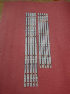Image 2 - جديد كيت 10 قطعة LED شريط إضاءة خلفي ل 49PUS7503 49pus6162/12 LB49023 V1_00 V0_00 3A6560010EA0 3A6560000EA0