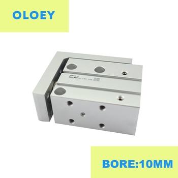 MXH10-10 Bore:10MM compact slide guide rod cylinder Stroke precision MXH10-5 MXH10-15 MXH10-25 MXH10-30