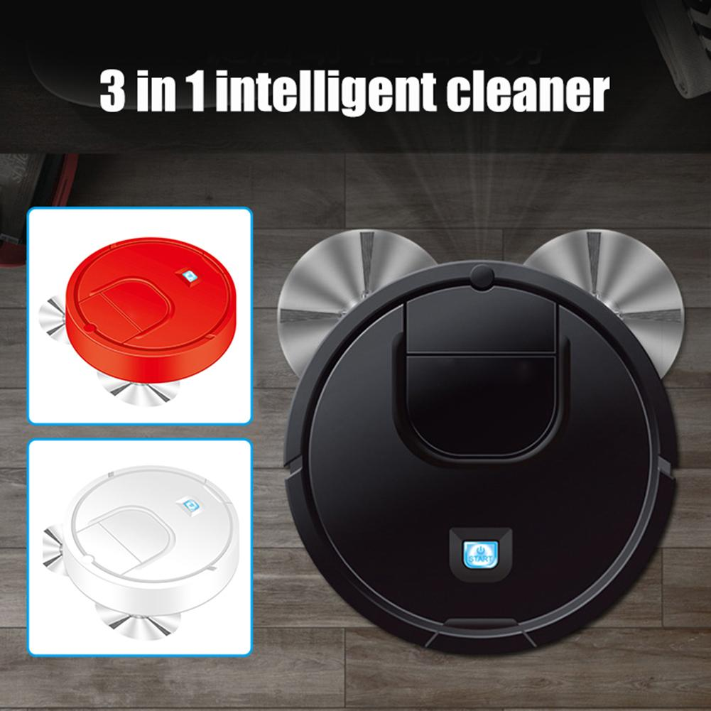Household Automatic 3 in 1 Smart Robot Suction Sweeper Floor Mop Vacuum Cleaner Home Cleaning Accessories|Brooms & Dustpans| |  - title=