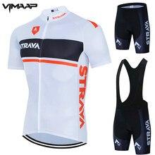 Novo 2021 strava conjunto camisa de ciclismo respirável roupas bicicleta equitação roupas manga curta esportes ciclismo conjunto ropa ciclismo