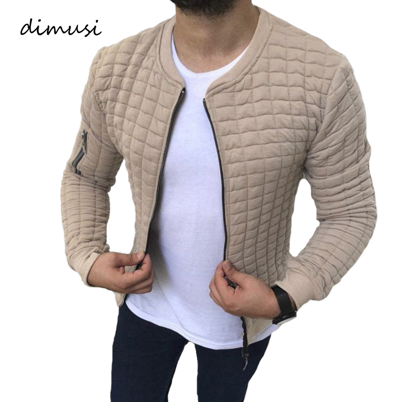 DIMUSI Mens Zipper Hoodies Casual Mens Stand Collar Hooded Jackets Fashion Man Slim Sweatshirts Sportswear Tracksuits Clothing