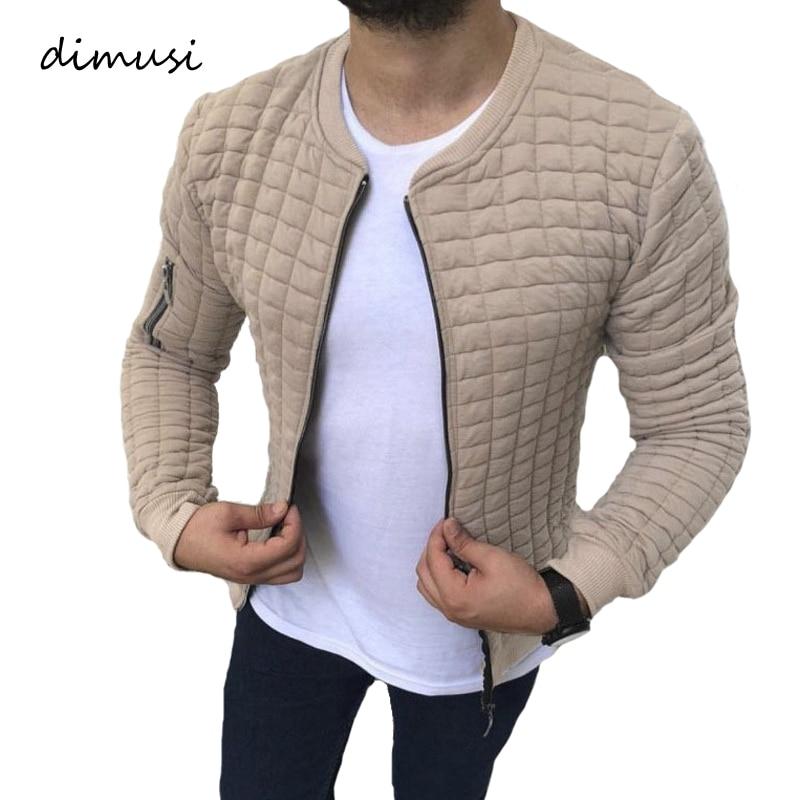 DIMUSI Mens Zipper Hoodies Casual Mens Stand Collar Hooded Jackets Fashion Man Slim Sweatshirts Sportswear Tracksuits Clothing