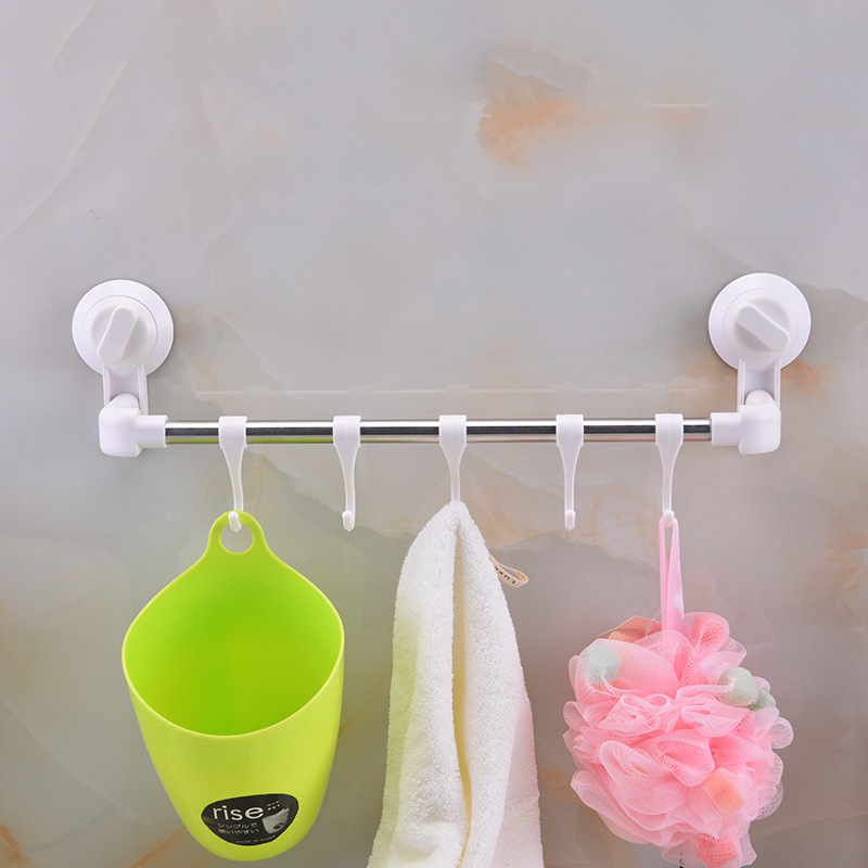 Напрямую от производителя продажа ванной комнаты для полотенец, на присоске стойки всасывания стены ванной вешалка для полотенец для
