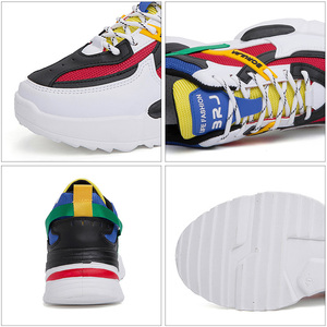 Image 5 - Mountain Conqueror 2019 Harajuku Autumn Vintage Sneakers Men Breathable Pu leather Casual Shoes Men Comfortable Fashion Sneakers