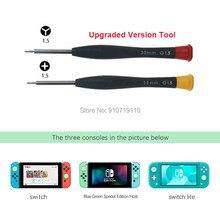 Juego de herramientas de reparación de Joy Con, Triwing 1.5Y de Juego de puntas, destornillador de tres puntos para Nintendo Switch, 20 juegos