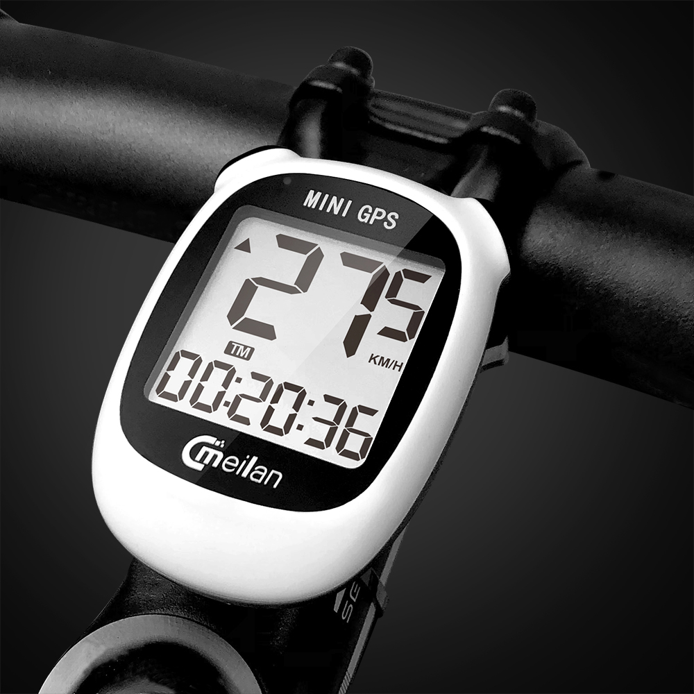 GPS <font><b>Bike</b></font> <font><b>computer</b></font> bicycle Rider GPS Speedometer Speed <font><b>Altitude</b></font> DST Ride time Wireless waterproof bicycle <font><b>computer</b></font> image