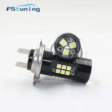 Driving-Light CANBUS DRL Fog-Lamp Auto-Leds White 6000k 12V FSTUNING for Cars 21SMD 3535/10w