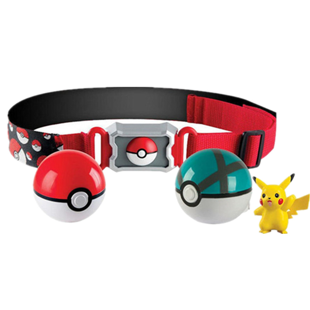 TAKARA TOMY Pokemon Go Game Charizard Pikachu Figurine Pokemon Clip N GO Carry Poke Ball Belt Set PVC Action Figure Toys Anime 2