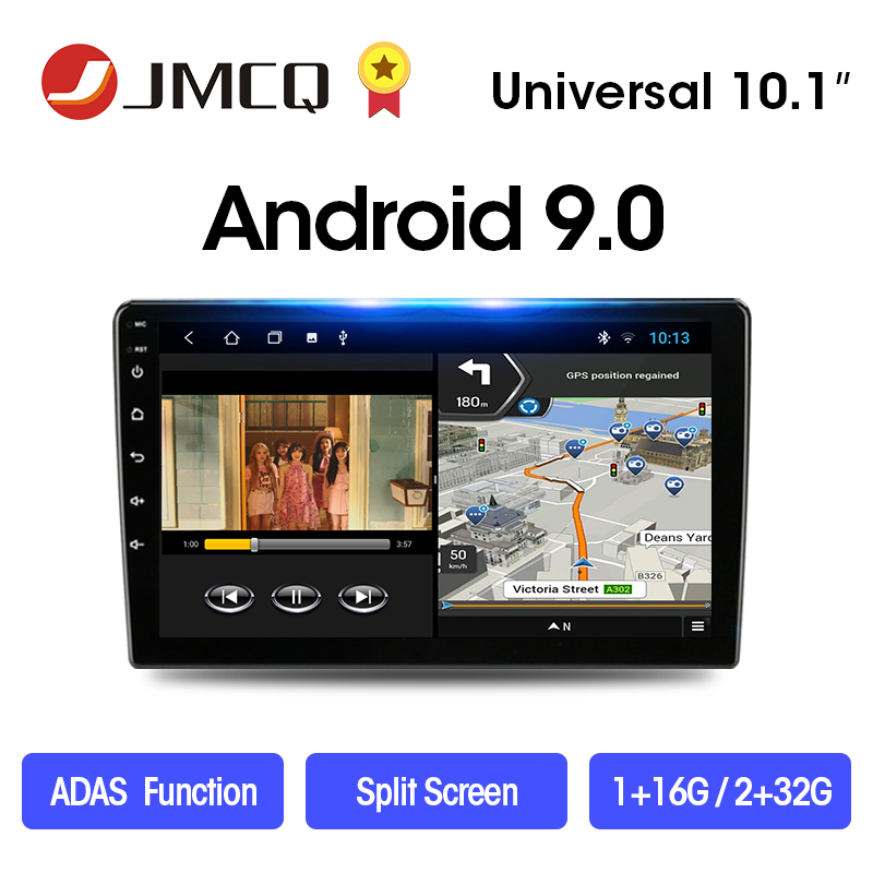 JMCQ 2 Din Android 8.1 2G+32G 9/10.1 Car Radio Multimedia Video Player 2Din Navigation GPS Car Stereo FM For Nissan Kia Honda VW