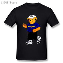 Fashionable Teddy Bears That Never Age. Fashionable T-shirts And Tops Are For Both Men And Women Cartoon T Shirt Tee Tops 04