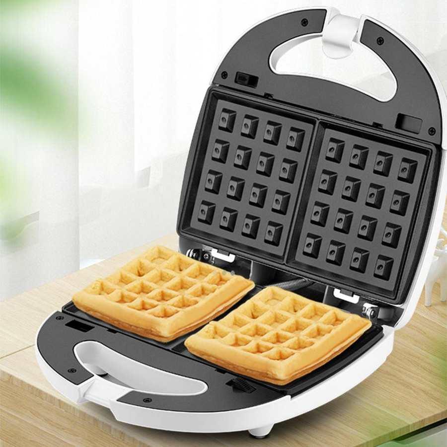 Gaufres électriques ou Machine à Sandwich cuisine petit déjeuner grille-pain pain faisant la Machine ménage cuisson casserole nous Plug 110V