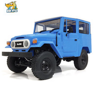 WPL Metal RC Car C34 RTR 1/16 Toyota FJ40 4WD Climbing Off road Truck Remote Control Car DIY Accessories RC Toy For Kids RC Gift